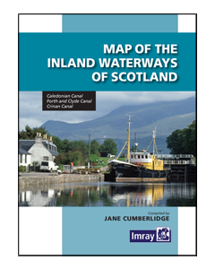 Map of the Inland Waterways of Scotland (2nd Edition, 2013)