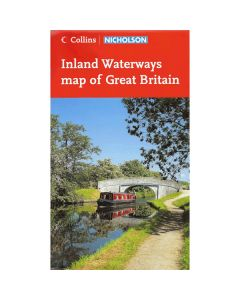 Inland Waterways Map of Britain (Nicholson)