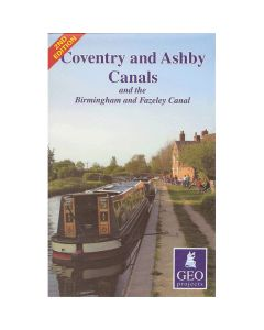Coventry & Ashby Canals and the Birmingham & Fazeley Canal Map