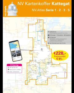 NV.Kartenkoffer Kattegat - NV.Atlas Serie 1, 2, 3, 5.1, 5.2