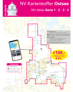 NV.Kartenkoffer Ostsee - NV.Atlas Serie 1, 2, 3, 4