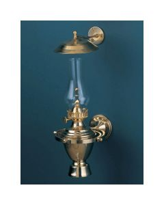 Atlantic Gimbal Lamp w/Smoke Bell