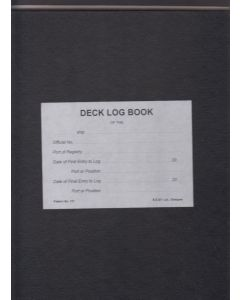 Deck Log Book [Pattern No.131]