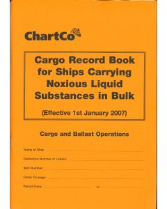 Cargo Record Book for Ships Carrying Noxious Liquid Substances in Bulk
