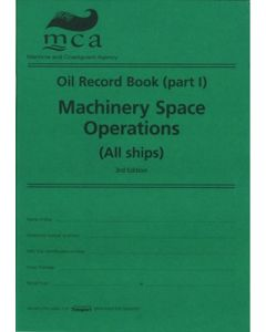 Oil Record Book Part 1 - MARPOL Machinery Space Operations (All ships)
