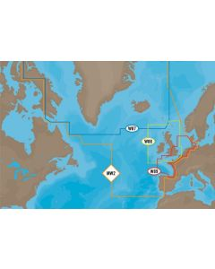C-MAP MAX - Atlantic European Coasts