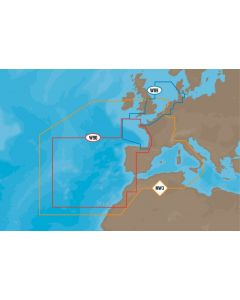 C-MAP MAX - West European Coasts