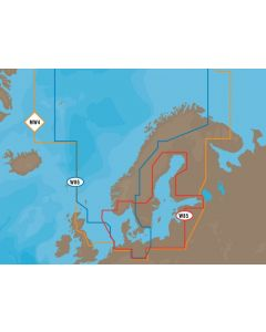 C-MAP MAX - North and Baltic Seas