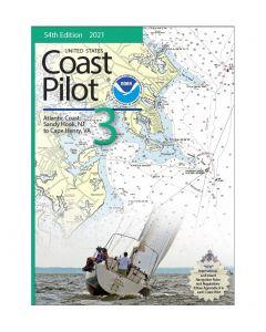 United States Coast Pilot 3 (54th Edition, 2021)