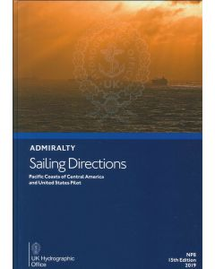 NP8 - ADMIRALTY Sailing Directions: Pacific Coasts of Central America and United States Pilot