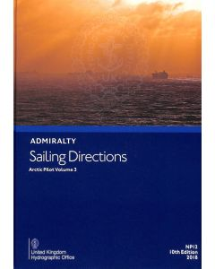 NP12 - ADMIRALTY Sailing Directions: Arctic Pilot Volume 3 (10th Edition)