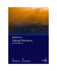 ADMIRALTY Sailing Directions: Australia Pilot Volume 1 ( NP13 | 5th Edition | 2017 )