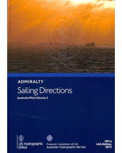 NP14 - ADMIRALTY Sailing Directions: Australia Pilot Volume 2
