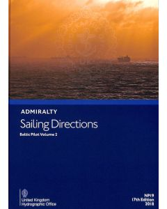ADMIRALTY Sailing Directions: Baltic Pilot Volume 2 ( NP19 | 17th Edition | 2018 )