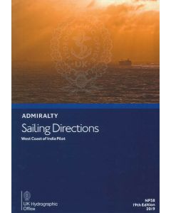 NP38 - ADMIRALTY Sailing Directions: West Coast of India Pilot