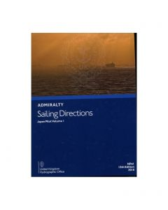 ADMIRALTY Sailing Directions: Japan Pilot Volume 1 ( NP41 | 12th Edition | 2018 )