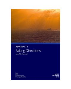 ADMIRALTY Sailing Directions: Japan Pilot Volume 4 ( NP42C | 5th Edition | 2015 )