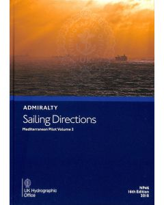 ADMIRALTY Sailing Directions: Mediterranean Pilot Volume 2 ( NP46 | 16th Edition | 2018 )