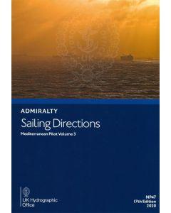 NP47 - ADMIRALTY Sailing Directions: Mediterranean Pilot Volume 3
