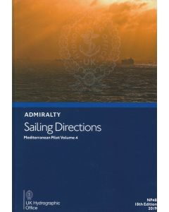 NP48 - ADMIRALTY Sailing Directions: Mediterranean Pilot - Volume 4