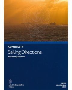 NP55 - ADMIRALTY Sailing Directions: North Sea (East) Pilot (12th Edition, 2020)