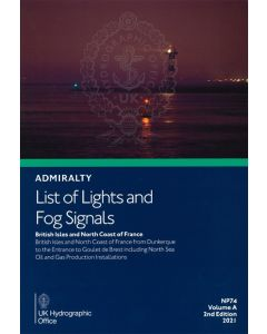 ADMIRALTY List of Lights and Fog Signals: British Isles and North Coast of France ( NP74   Volume A )