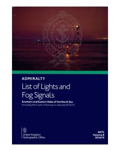NP75 - ADMIRALTY List of Lights and Fog Signals: Southern and Eastern Sides of the North Sea