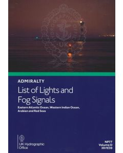 ADMIRALTY List of Lights and Fog Signals: Eastern Atlantic Ocean, Western Indian Ocean and Arabian Sea ( NP77 | Volume D | 2019/20 )