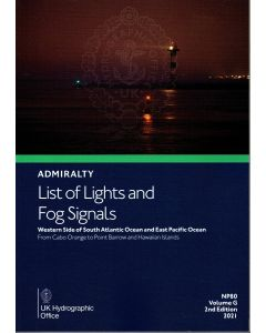 NP80 - ADMIRALTY List of Lights and Fog Signals: Western Side of South Atlantic Ocean and East Pacific Ocean (Volume G)