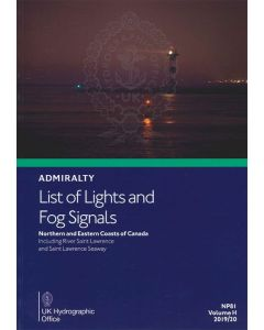 NP81 - ADMIRALTY List of Lights and Fog Signals: Northern and Eastern Coasts of Canada (Volume H)