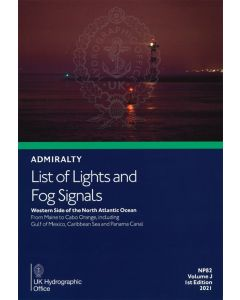 NP82 - ADMIRALTY List of Lights and Fog Signals: Western Side of the North Atlantic Ocean (Volume J)