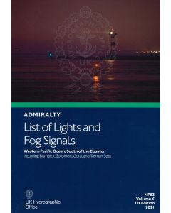 NP83 - ADMIRALTY List of Lights and Fog Signals: Western Pacific Ocean, South of the Equator