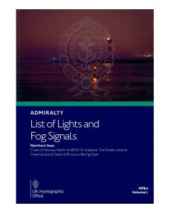 NP84  - ADMIRALTY List of Lights and Fog Signals: Northern Seas (Volume L)