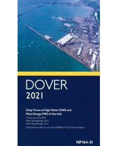 Admiralty Times of High Water at Dover 2021