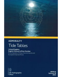 ADMIRALTY Tide Tables: English Channel to River Humber (Including Isles of Scilly, Channel Islands and European Channel Ports) ( NP201A | Volume 1A | 2021 )