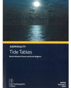NP201B - ADMIRALTY Tide Tables: United Kingdom and Ireland (2021)