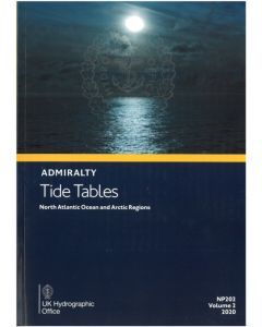 NP202 - ADMIRALTY Tide Tables: North Atlantic Ocean and Arctic Regions (2020)