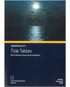 NP202 - ADMIRALTY Tide Tables: North Atlantic Ocean and Arctic Regions (2021)