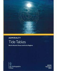 NP202 - ADMIRALTY Tide Tables: North Atlantic Ocean and Arctic Regions (2022)