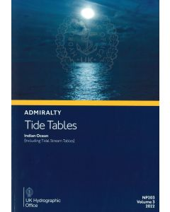 NP203 - ADMIRALTY Tide Tables: Indian Ocean (2022)