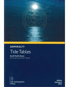NP204 - ADMIRALTY Tide Tables: South Pacific Ocean (including Tidal Stream Tables) (2022)