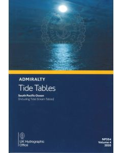 NP204 - ADMIRALTY Tide Tables: South Pacific Ocean (including Tidal Stream Tables) (2020)