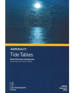 NP205 - ADMIRALTY Tide Tables: South China Seas & Indonesia (Including Tidal Stream Tables) (2020)