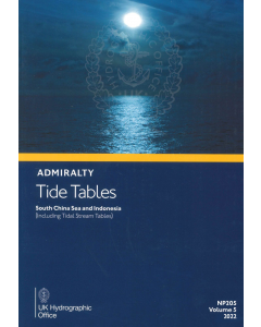 NP205 - ADMIRALTY Tide Tables: South China Seas & Indonesia (Including Tidal Stream Tables) (2022)