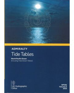 NP206 - ADMIRALTY Tide Tables: North Pacific Ocean (2020)