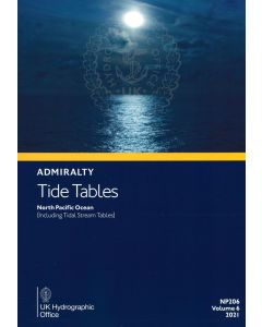NP206 - ADMIRALTY Tide Tables: North Pacific Ocean (2021)