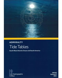 NP207 - ADMIRALTY Tide Tables: South West Atlantic Ocean and South America (2021)