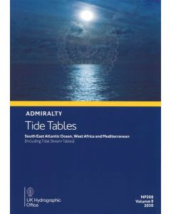 NP208  - ADMIRALTY Tide Tables: South East Atlantic Ocean (2020)