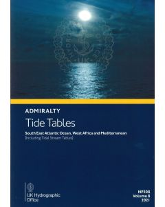 NP208  - ADMIRALTY Tide Tables: South East Atlantic Ocean (2021)