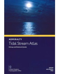 NP209 - ADMIRALTY Tidal Stream Atlas: Orkney and Shetland Islands